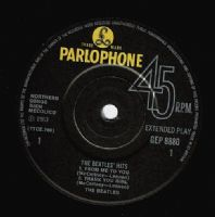THE BEATLES The Beatles' Hits EP Vinyl Record 7 Inch Parlophone...